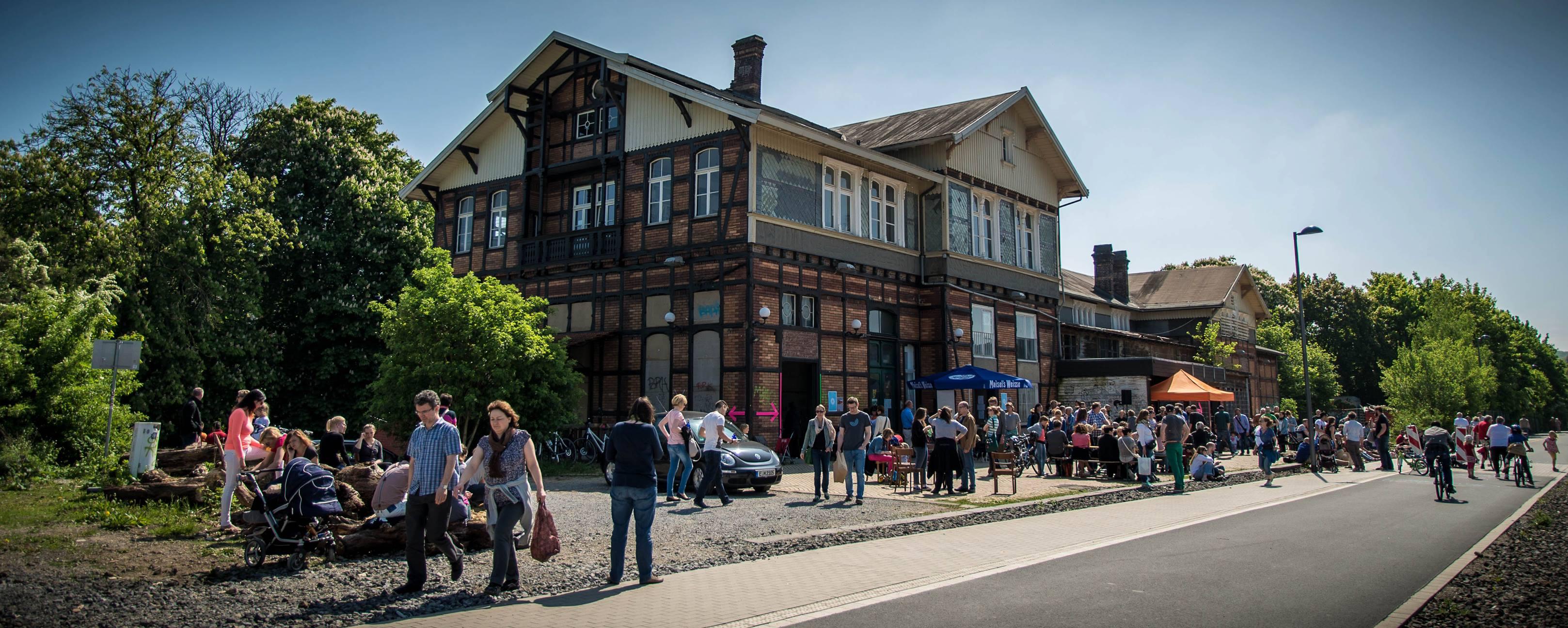 ai regional Wuppertal - Sommerlicher Ausflug in den Biergarten Mirker Bahnhof und Radtour auf der Nordbahntrasse